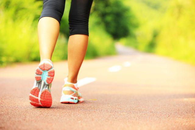 Hvordan er fedtforbrændingen ved løb og gang