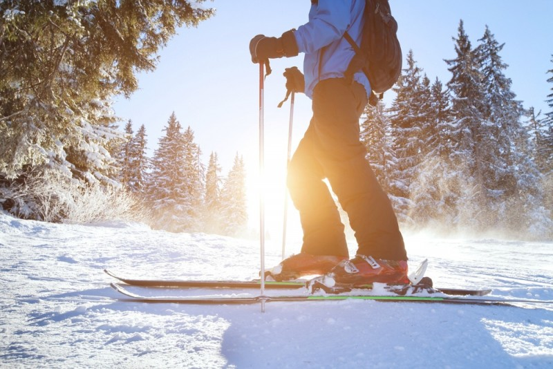 Få alpine fornemmelser på skisteder i Danmark
